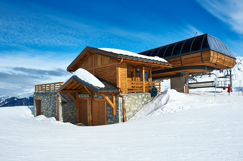 la location de chalet à Courchevel
